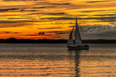 Harri Huittinen - Auringonlaskun purjehtijat
