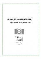 Jäsenkirje 2006
