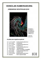Jäsenkirje 2010